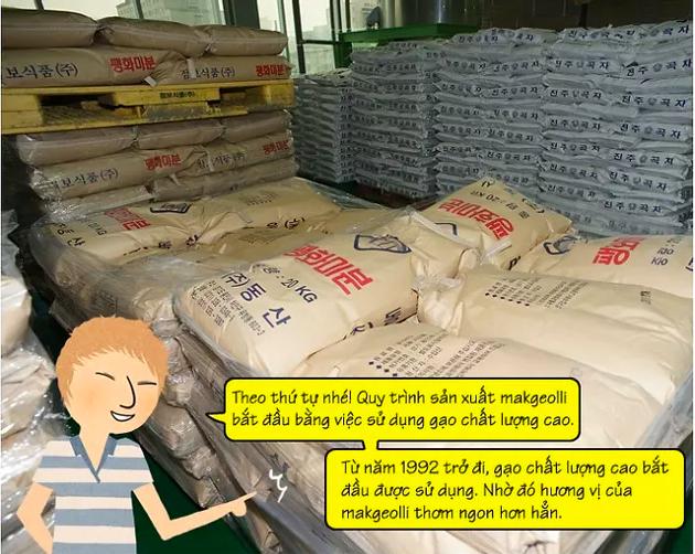 cách nấu rượu gạo hàn quốc