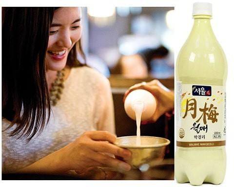 Rượu Gạo Makgeolli Hàn Quốc -  sức khỏe và sắc đẹp