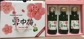 Set Quà Tặng Rượu Mơ Xanh Seol Joong Mae