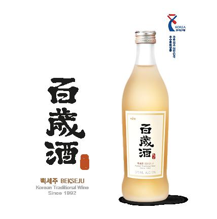 Rượu Hồng Sâm Hàn Quốc Bekseju