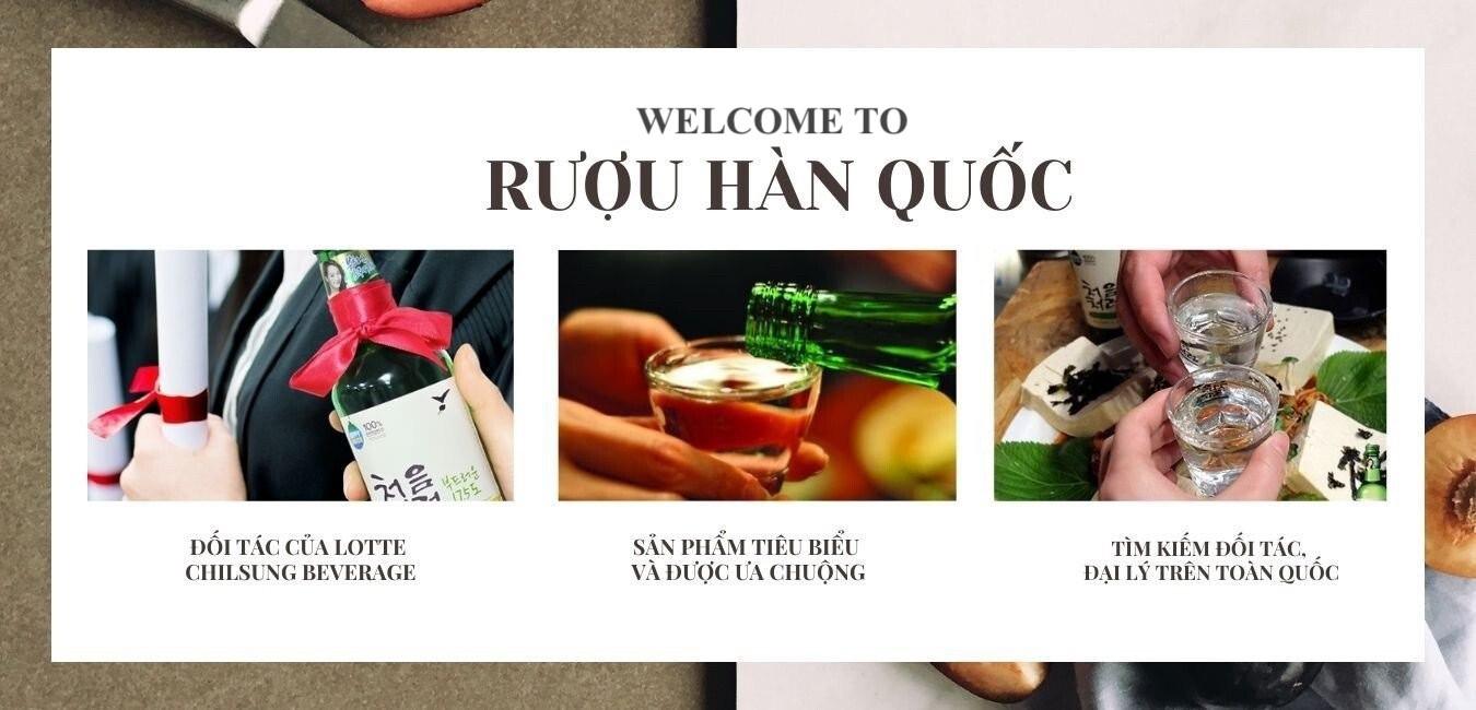 CÔNG TY TNHH XNK HÀ NGỌC - Đối tác của LOTTE CHILSUNG BEVERAGE - Nhà nhập khẩu và phân phối tại Việt Nam các loại rượu và đồ uống chất lượng cao từ Hàn Quốc